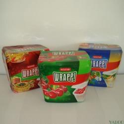 Set 3 cutii alimente dreptunghiulare Curver Wrapp 3x1L