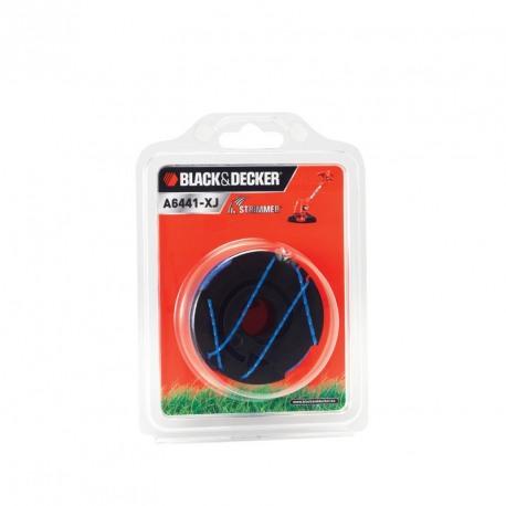 Mosor cu 2 fire de nylon Black+Decker 2x6m Reflex Plus - A6441