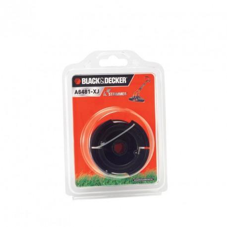 Mosor cu fir nylon Black+Decker 10m Reflex - A6481