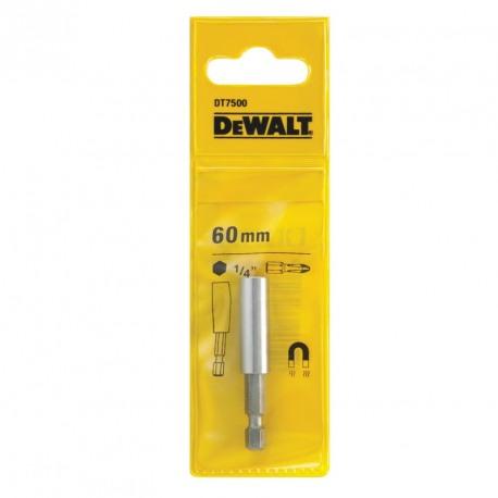 Suport magnetic DeWALT DT7500 cap insurubare 60mm