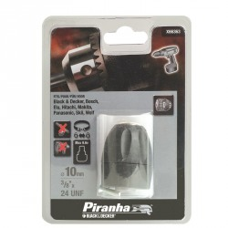 Mandrina automata Black+Decker 10mm 3/8x24UNF - X66363
