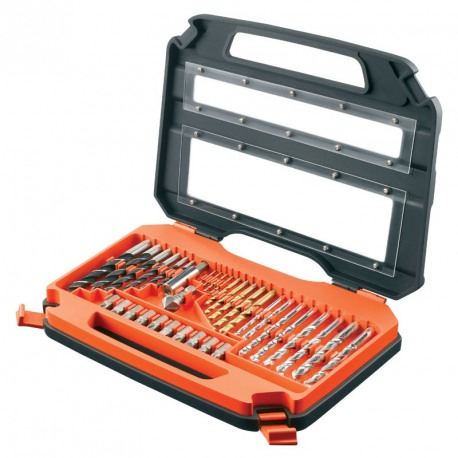 Trusa 35 accesorii insurubare/gaurire Black+Decker - A7152