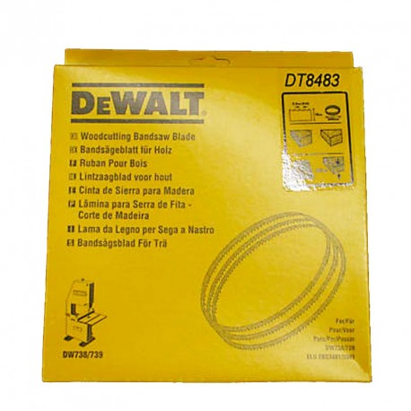 Banda banzic DeWALT DT8486 pentru DW738 / 739  - 2095 mm 100mm