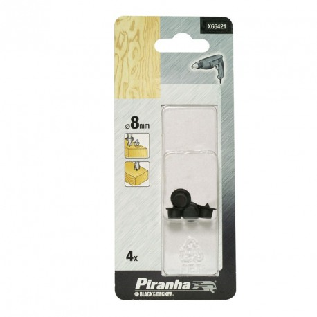 Accesoriu marcare centru imbinare Black+Decker 8mm - 4buc - X66421