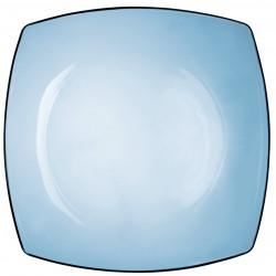 Farfurie intinsa sticla Bormioli Eclissi albastru 27 cm