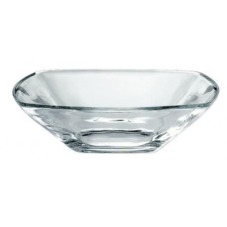 Farfurie adanca sticla Bormioli Eclissi Transparent 18 cm