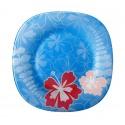 Farfurie intinsa sticla Bormioli Jungle Blue 27 cm
