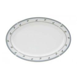 Platou oval portelan Yalco Cecilia 35 cm