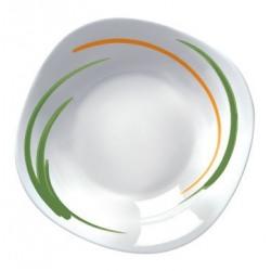 Farfurie adanca opal Bormioli Parma Aquarello 23 cm