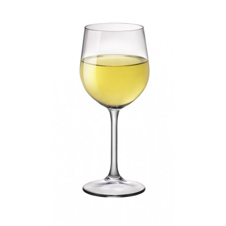 Set 6 pahare vin alb chardonnay Bormioli Riserva 340 ml
