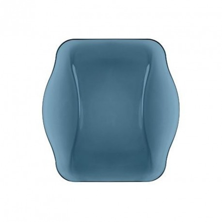 Farfurie adanca sticla Bormioli Nettuno Albastru 22 cm