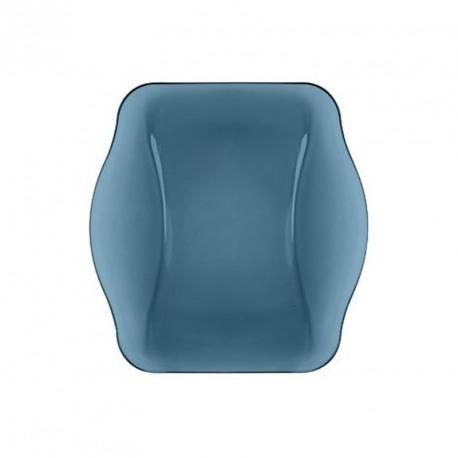 Farfurie desert sticla Bormioli Nettuno Albastru 19 cm