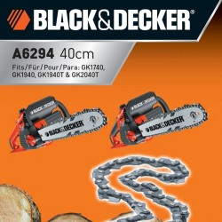 Lant electro-fierastrau  Black+Decker 40cm  - A6294