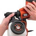 HVLP200 - Sistem pulverizare fina Black&Decker 350W; 1200ML