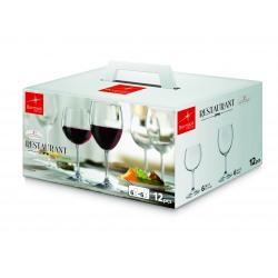 Set 12 Pahare Restaurant (6 Vin Rosu 52.5Cl+6 Vin Alb 42.5Cl)