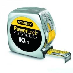 Ruleta Stanley PowerLock carcasa ABS  Stanley 10M - 1-33-442