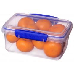Cutie alimente din plastic dreptunghiulara cu capac Sistema KLIP IT 1L