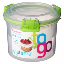 Recipient mic dejun 2 comp+ lingurita Sistema To Go 0.53L