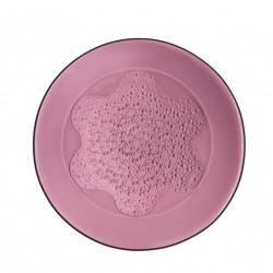 Farfurie intinsa sticla 27cm hya purple