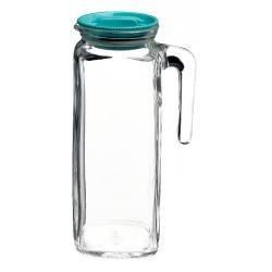Carafa sticla cu capac ermetic 1l frigoverre