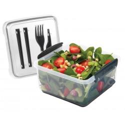 Cutie alimente+tacamuri din plastic Sistema Lunch Plus To Go 1.2L