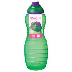 Sticla din plastic cu capac Sistema Davina TWIST'N'SIP 700ml