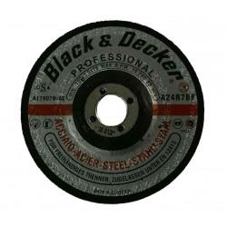 Disc abraziv B&D 115mm pentru taiere metal/inox Black&Decker - AS17927T