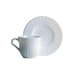 Set cafea opal 6 persoane Bormioli Prima 22Cl