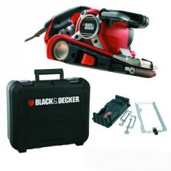 Slefuitor cu banda Black+Decker 750W  75x533mm - KA89EK