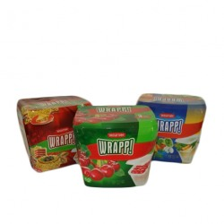 Set 3 cutii alimente dreptunghiulare Curver Wrapp 3x0.5L