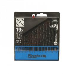 Set 13 burghie HSS pentru metal Black+Decker 2-8mm - X56025