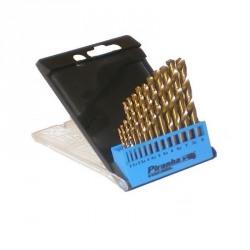 Set 13 burghie HSS Titan pentru metal Black+Decker 2-8 mm - X56180