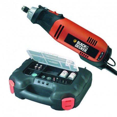 Unealta multifunctionala rotativa Black+Decker 90W - RT650KA
