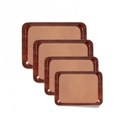 Tava servire lemn dreptunghiulara Cambro 43 x 61 cm