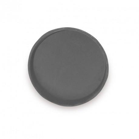 Tava servire cauciucata rotunda Cambro neagra 32 cm