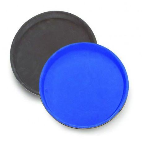 Tava servire rotunda melamina Cambro neagra 43 cm