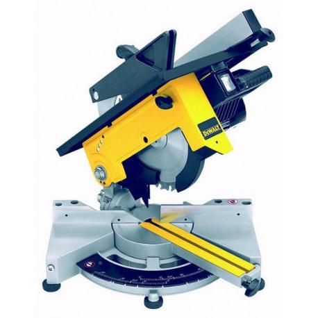Masina de debitat DeWALT DW711 pentru lemn/aluminiu 1300W 260x30mm