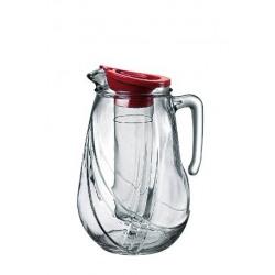 Carafa sticla cu tub de gheata Bormioli Rolly 2.5 L