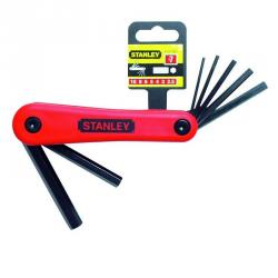 Set pliabil 7 chei imbus Stanley 1.5-6mm - 4-69-262