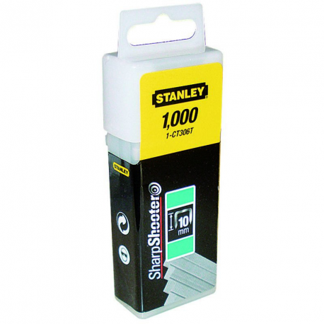 Capse 12mm Tip A 5/53/530 -1000 buc Stanley® - 1-TRA208T