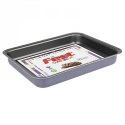 Tava cuptor teflon dreptunghiulara Fest Cook&Fun gri 30 cm