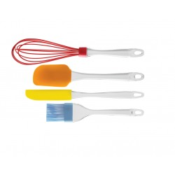 Set 4 ustensile bucatarie silicon cook&fun