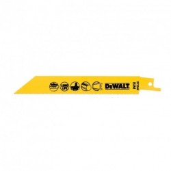 Set 5 lame fierastrau orizontal DeWalt 152mm - DT2385