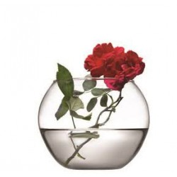 Vaza rotunda sticla Pasabahce Flora 12cm