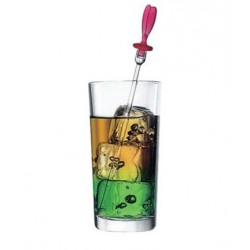 Set 6 Pahare long drink Pasabahce Alanya 270ml in sleeve box