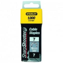 Capse cabluri 14mm Tip 7 CT100 - 1000 buc Stanley - 1-CT109T