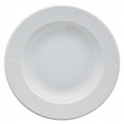 Farfurie adanca portelan Global Gastronomy Ripple Premium 22 cm