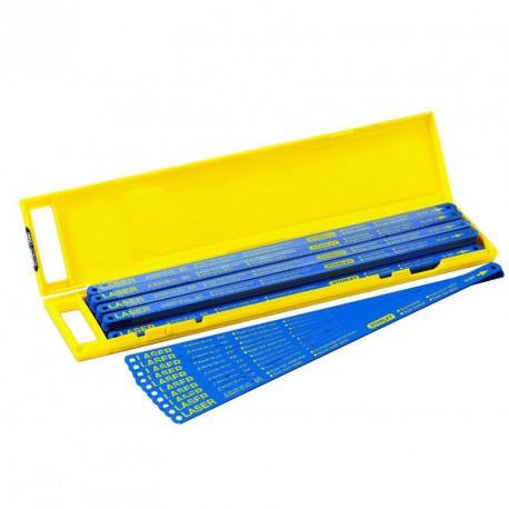Lame bi-material 24tpi - 5 bucati Stanley - 2-15-558