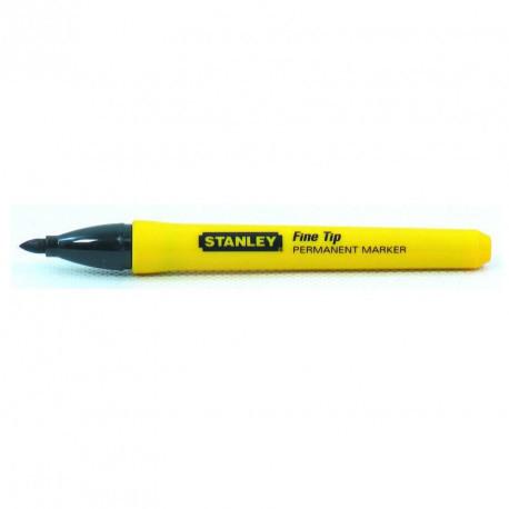 Marker permanent  Stanley varf subtire - 2 buc  - 0-47-316
