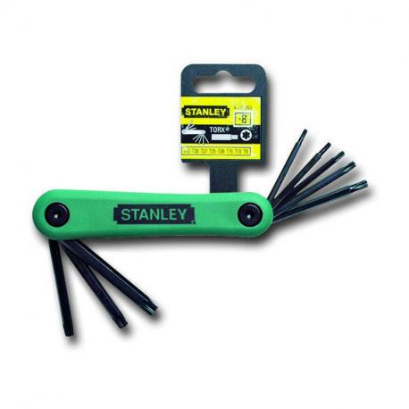 Set pliabil 8 chei Stanley Torx 9-40 - 4-69-263